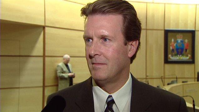 Michael Fougere, maire de Regina
