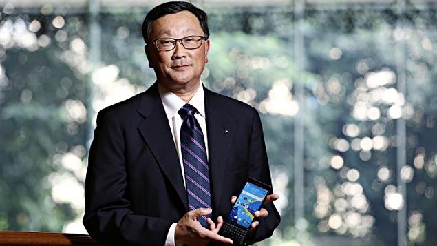 John Chen, le PDG le mieux rémunéré au Canada en 2014.