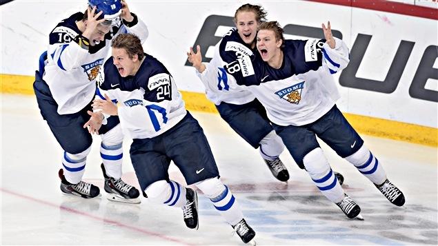 La Finlande a remporté le championnat du monde de hockey junior