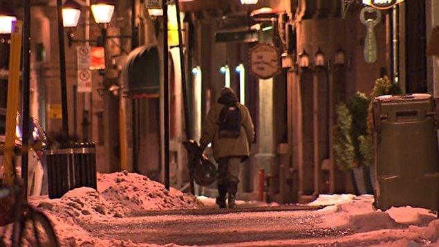 Nuit froide à Montréal