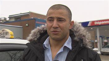 Le chauffeur de Taxi Coop Issam Aloui