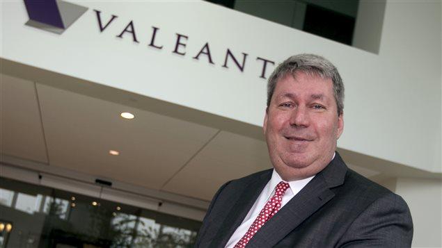 Le PDG hospitalisé de Valeant, Michael Pearson