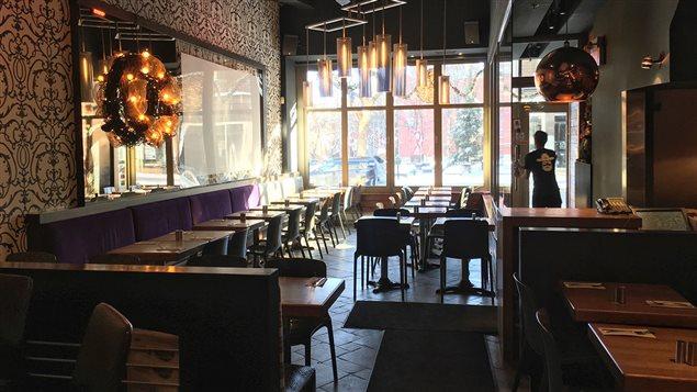 Le restaurant Saloon à Montréal