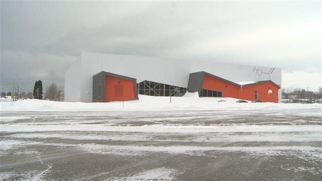 Le Stade Premier Tech a été inauguré ce matin.