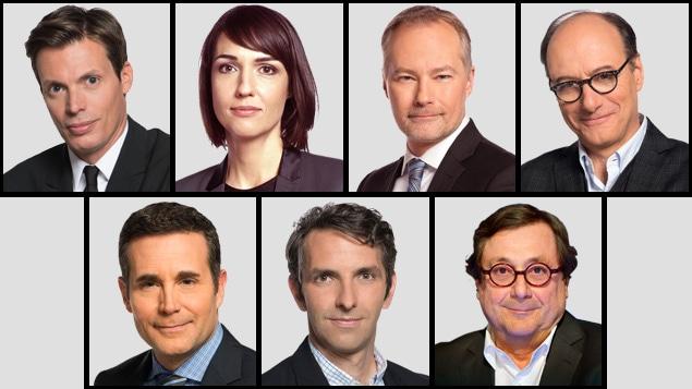 Les correspondants à l'étranger de Radio-Canada