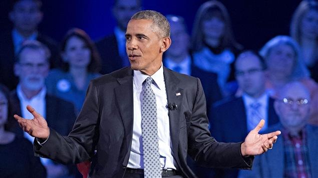 Le président Barack Obama, sur les ondes du réseau CNN, le 7 janvier 2016.