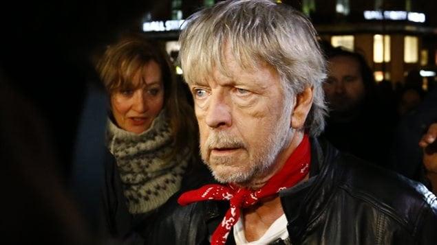 Le chanteur français Renaud, le 7 janvier 2016 à Paris