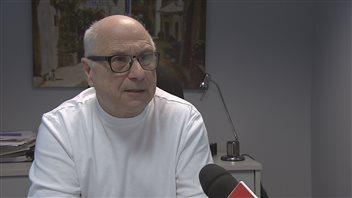 Le vice-président des Services touristiques feuille d'érable, Gilbert Boudreau.