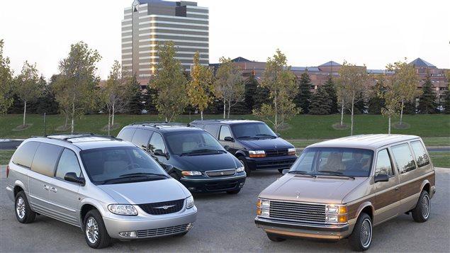 La mini-fourgonnette Chrysler en sept temps