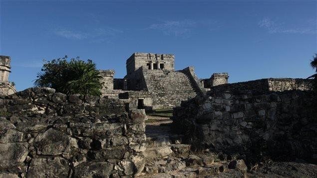 Des ruines mayas à Tulum, au Mexique