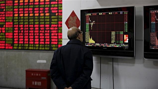 Les investisseurs chinois sont inquiets face à la volatilité des marchés.