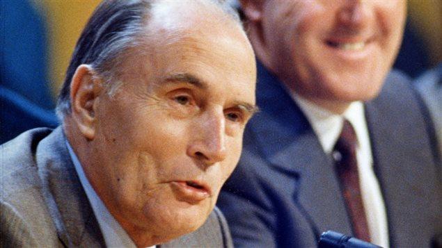 L'ex-président français François Mitterrand