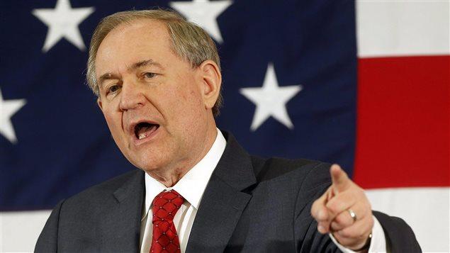 Jim Gilmore, candidat à l'investiture républicaine pour la présidentielle de 2016.