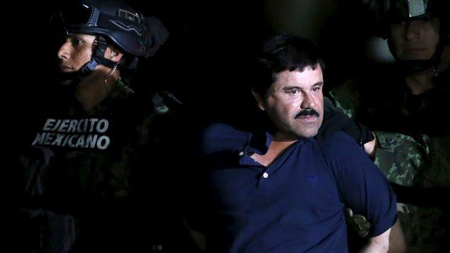 Joaquin « Chapo » Guzman lors de son arrestation vendredi