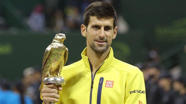 Un 60e titre ATP pour Novak Djokovic