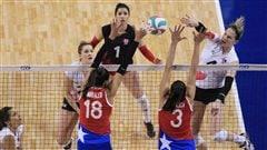 Les volleyeuses canadiennes ne rêvent plus à Rio