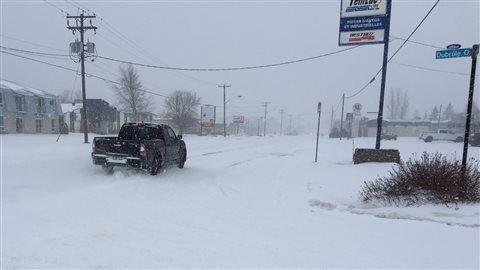 Tempête, 10 janvier 2016, Ville-Marie, au Témiscamingue