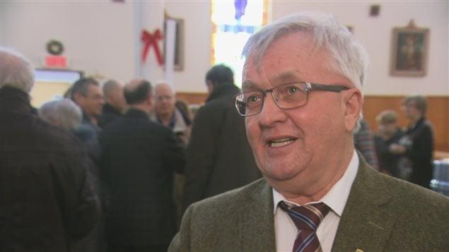 Serge Dionne, conseiller municipal du district Sacré-Coeur, à Rimouski.