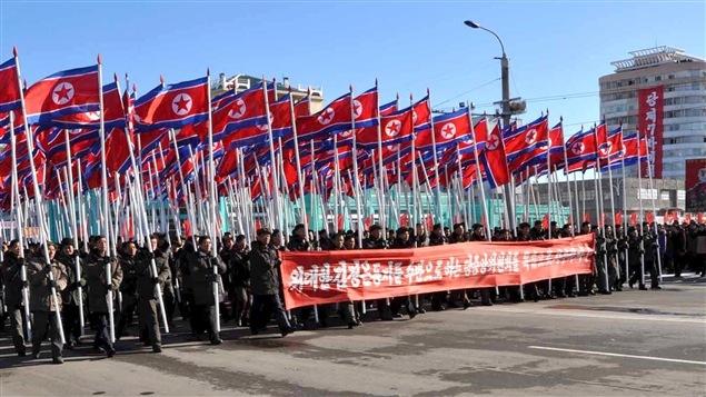 Un rassemblement populaire en Corée du Nord