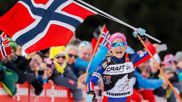 Therese Johaug gagnante au Tour de ski