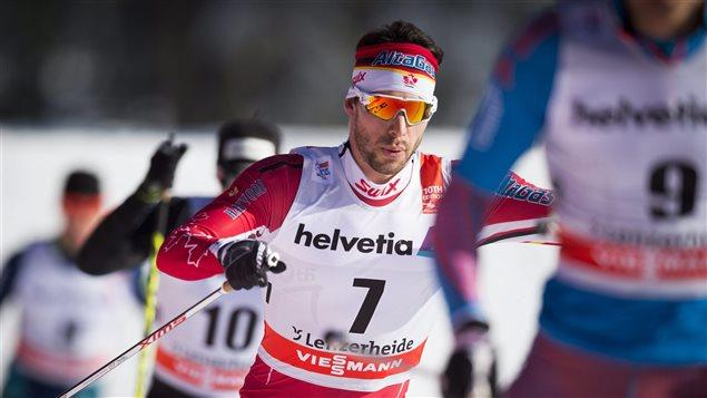 Alex Harvey au Tour de ski