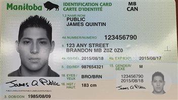 Au Manitoba, la CIP multifonction intégrera le permis de conduire, la carte de santé et la carte photo d'identité.