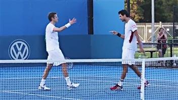 Daniel Nestor et Marcelo Melo