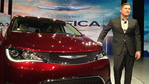 Le vice-président de Fiat-Chrysler a dévoilé la nouvelle Chrysler Pacifica