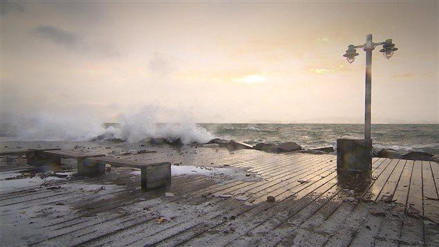 La tempête n'épargne pas Sept-Îles