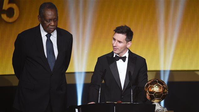 Lionel Messi et son cinquième Ballon d'or