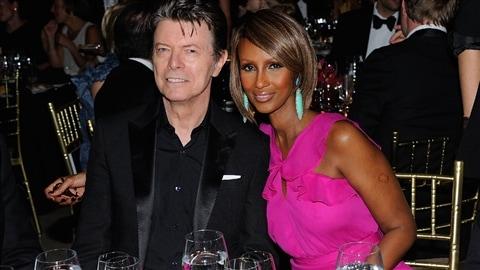 David Bowie et Iman en 2011 à New York