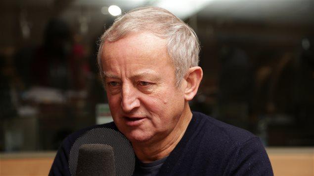 L'écrivain Yann Queffélec, qui a remporté le prix Goncourt en 1985 avec son roman «Les noces barbares».