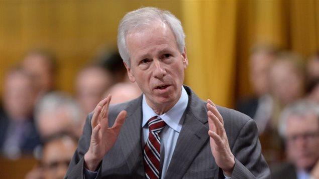 Le ministre des Affaires étrangères, Stéphane Dion  Photo: Sean Kilpatrick La Presse canadienne