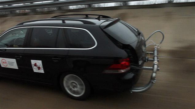 Un test routier
