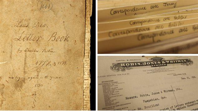 Registre des corresponsances de Charles Robin 1777-1778 et autres documents.
