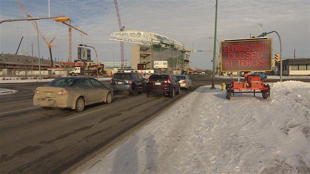 Une portion de la rue Elphinstone est fermée mercredi et jeudi à Regina.