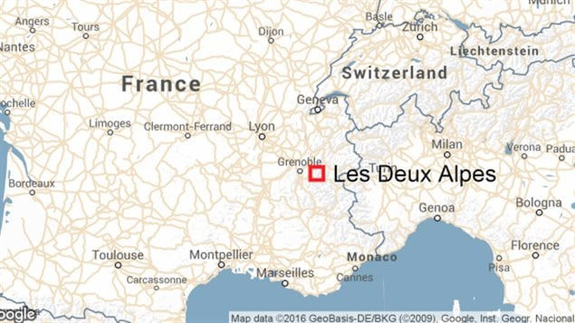 L'avalanche est survenue dans l'Isère, à proximité de Grenoble.