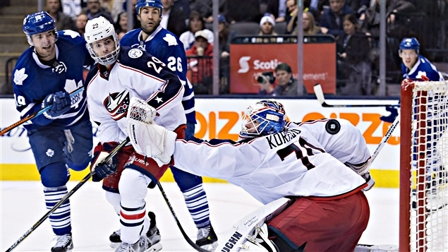 Joonas Korpisalo a bloqué 41 tirs des Leafs