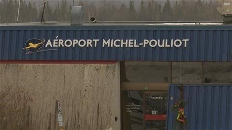 L'aéroport de Gaspé