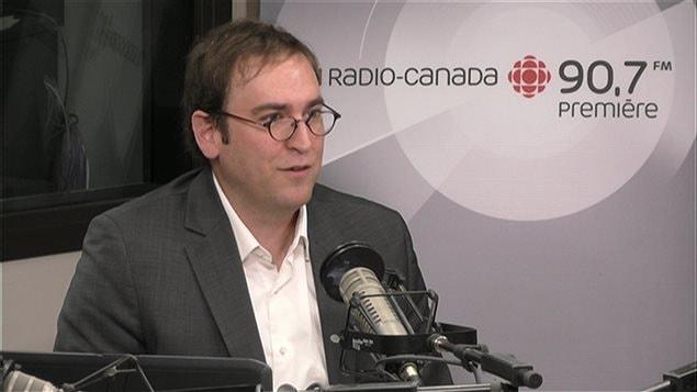 Louis Senécal, président de l'Association québécoise des Centre de la petite enfance