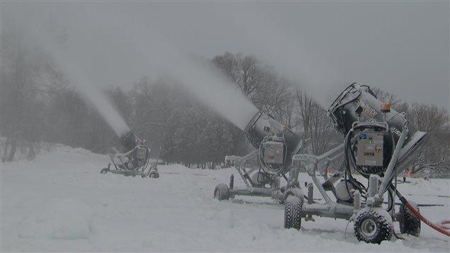 Des canons à neige (archives)