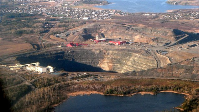 Mine Dome de Goldcorp à Timmins