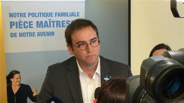 Louis Sénécal, président de l'AQCPE