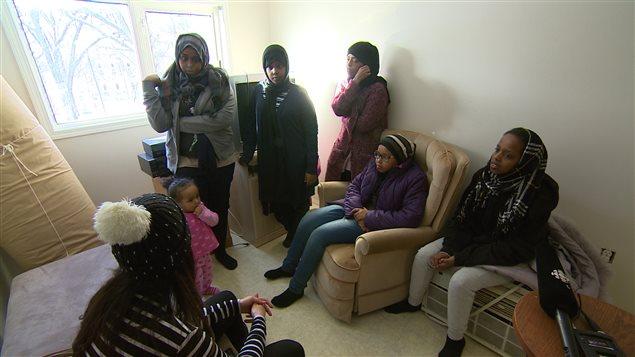 La famille Mohamad Ismail se sent maintenant en sécurité au Canada