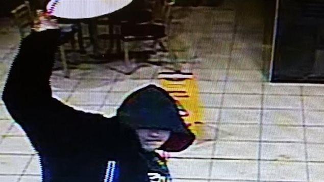 Le suspect de la tentative de vol à main armée survenue au restaurant McDonald's de Campbellton le 5 janvier.