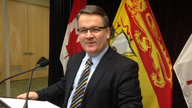 Le ministre Victor Boudreau