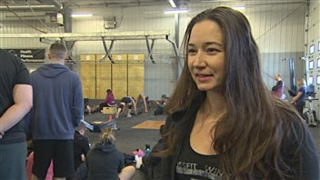 Tania Tétrault Vrga, fondatrice et entraîneuse en chef de CrossFit Winnipeg