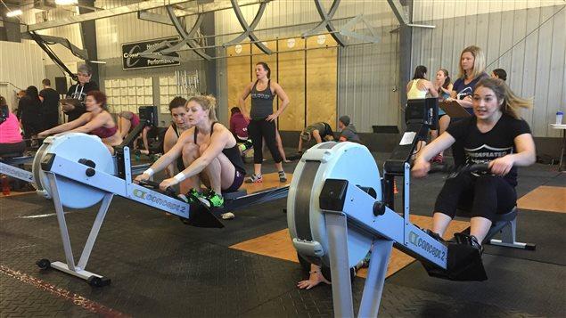 Les championnats FrostFit au club CrossFit Winnipeg