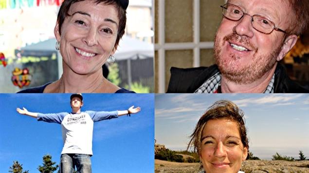 Gladys Chamberland, Yves, Charlerie et Maude Carrier, les victimes de l'attaque à Ouagadougou