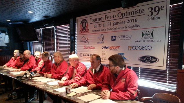Dévoilement du 39e Tournoi Fer-O Optimiste